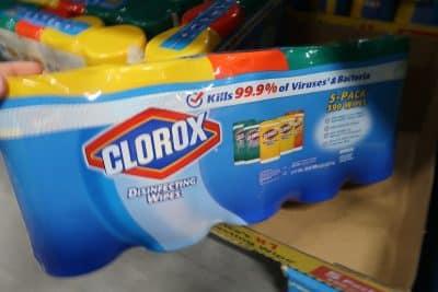 clorox wipes gas deal at BJs
