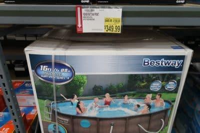 swimming pool at BJs