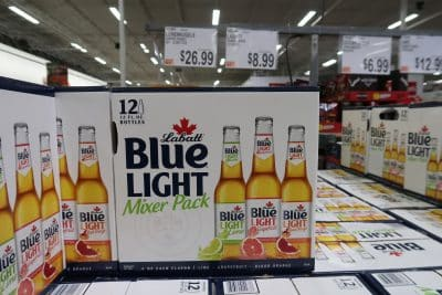 labatt blue mixer pack at BJs