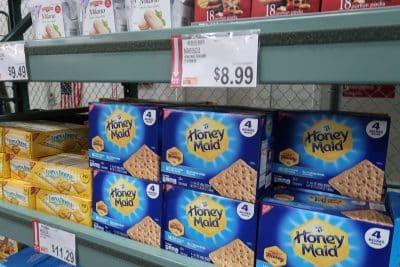 honey maid graham crackers bjs