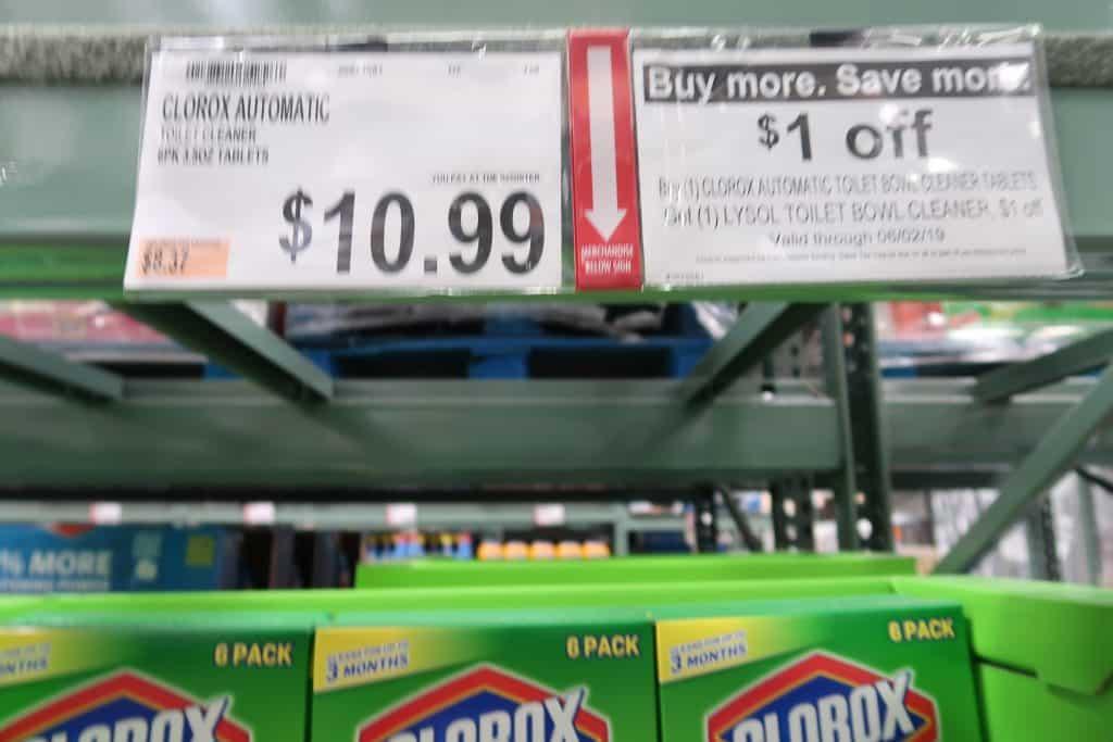 bjs buy more save more coupon promo clorox