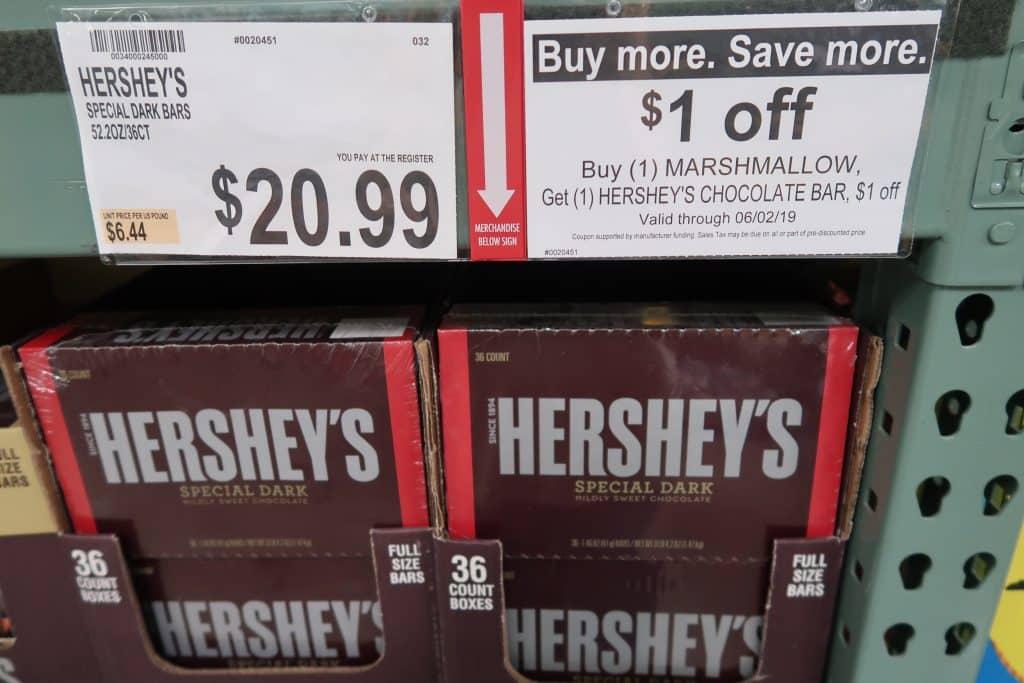 bjs buy more save more coupon promo hershey