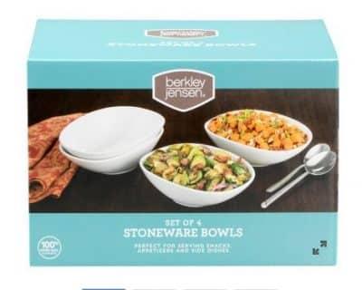 bjs brand stoneware bowl set