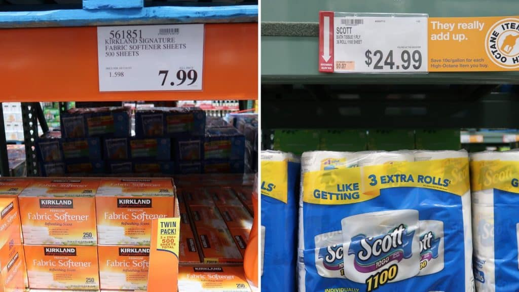 Bjs and costco pricing compared