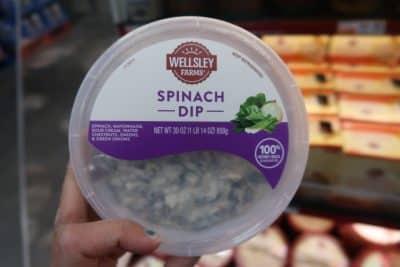 bjs brand spinach dip