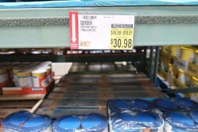 gerber goodstart cheap at BJs