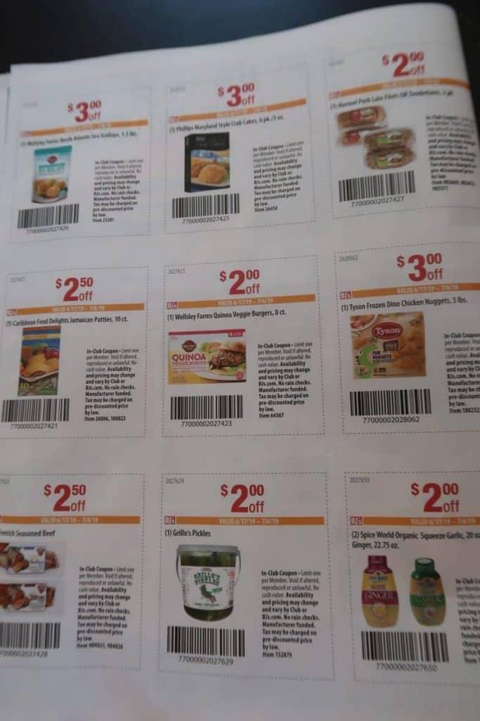 Bjs In Club Coupon Book Deals My Bjs Wholesale Club