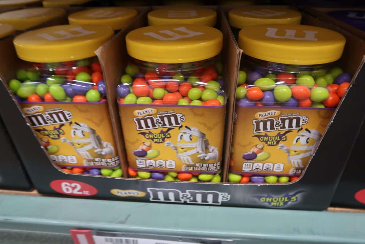 Halloween M&Ms Available at BJs