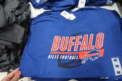 buffalo bills shirts at BJs