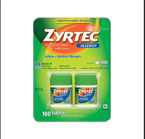 Save $11 on Zyrtec with Coupons at BJs!