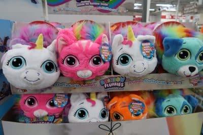 rainbow flufflies