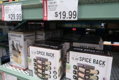 spice rack at BJs wholesale club