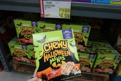 chewy halloween minis at BJs