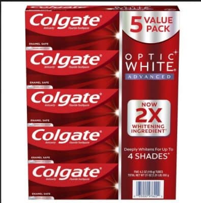 colgate optic white toothpaste bjs