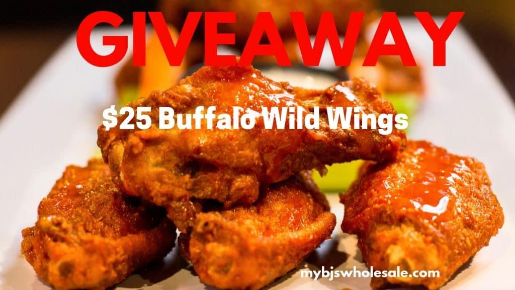 buffalo wild wings giveaway