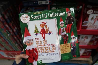elf on the shelf at BJs wholesale club