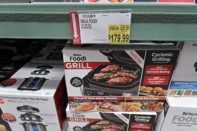 ninja foodi grill at BJs wholesale club