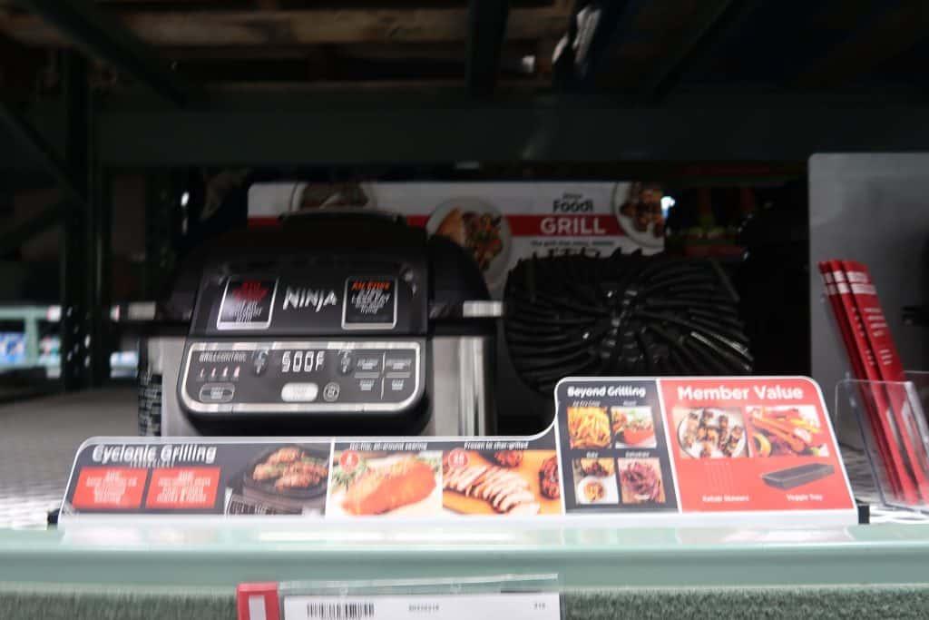 ninja foodi grill bjs wholesale club