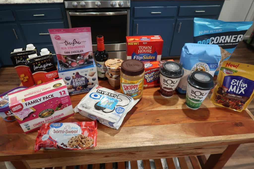 walmart grocery trip haul using ibotta