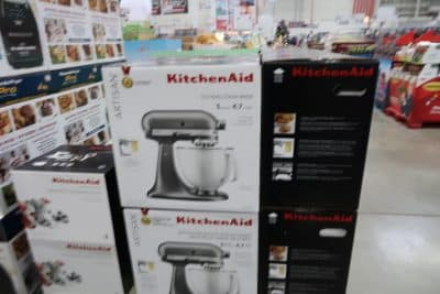 kitchenaid mixers at BJs