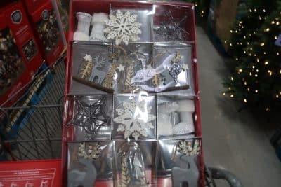 homemade ornaments at BJs