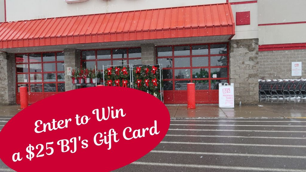 win a $25 BJ's gift card