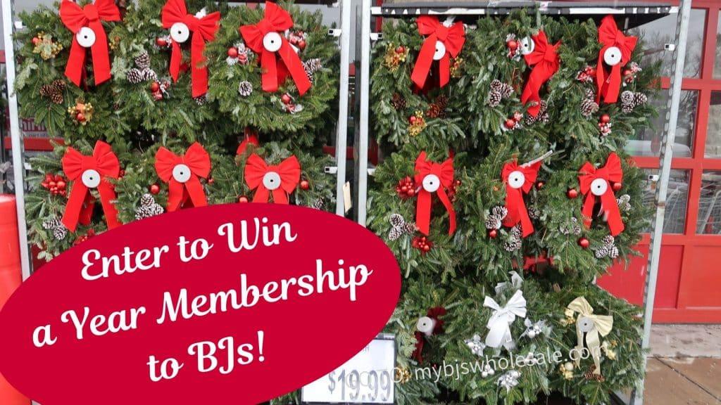 win a BJs membership giveaway