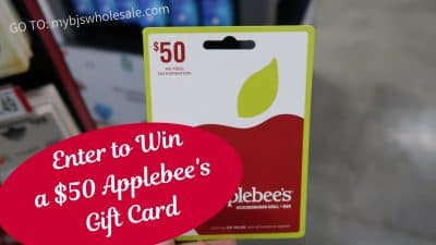 applebees gift card giveaway