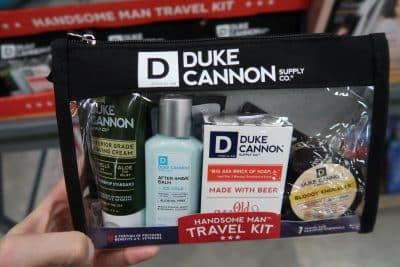 duke cannon beard travel set