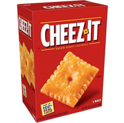 cheez it at BJs