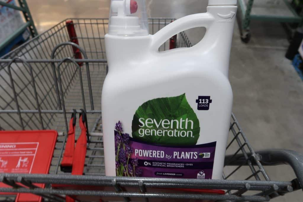 seventh generation detergent at BJs