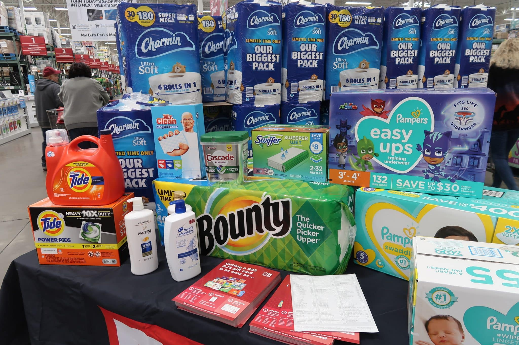 3 Deal Ideas For the P&G Promo at BJs This Month