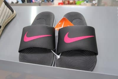 nike sandals at bjs