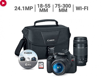 Canon EOS Rebel T7 Bundle