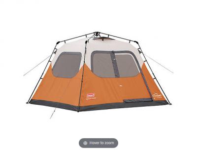 coleman 6 person tent on sale bjs mybjswholesale