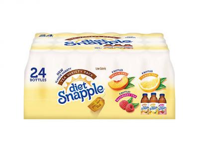 snapple diet iced tea variety pack bjs mybjswholesale