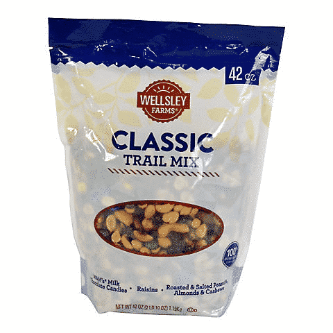 Select Wellsley Farms Trail Mix Under $10 at BJs
