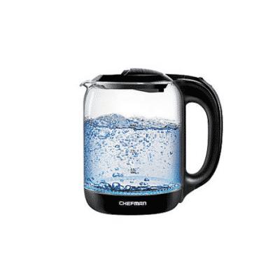 Chefman 1.7L Electric Glass Tea Kettle