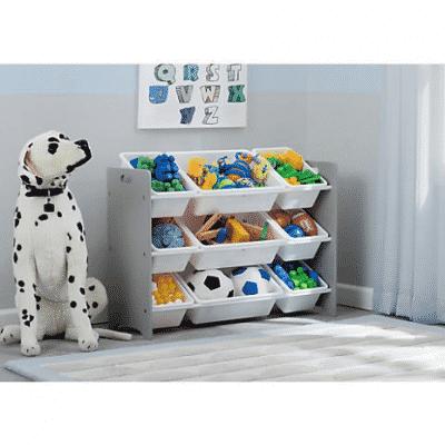 delta childrens 9 bin toy organizer