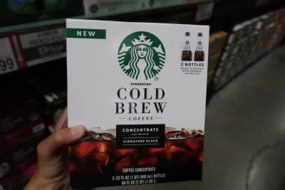 starbucks cold brew concentrate bjs