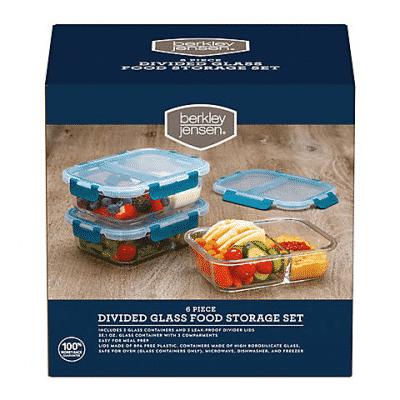 glass food storage set