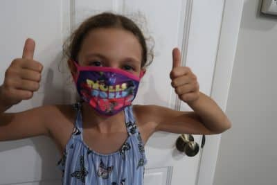 bjs licensed face mask for kids