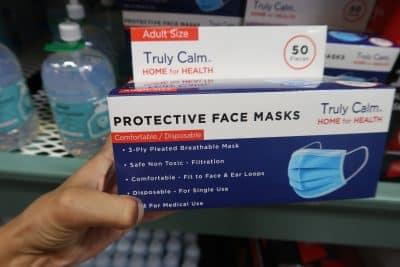3 layer face mask at bjs