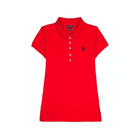 USPA Women's Cotton Polo $8.00