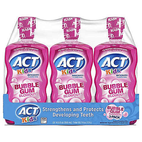 Coupon Stack for ACT Mouthwash- Ends 10/6