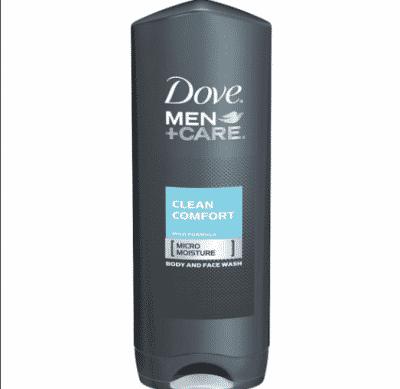 dove mens body wash