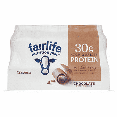 fairlife nutrition plan high protein chocolate shake