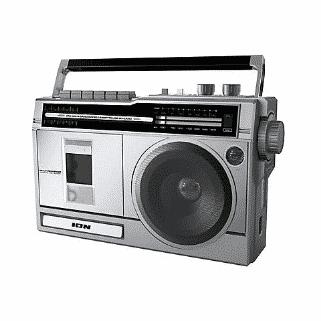 ion audio retro portable boombox