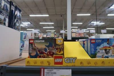 lego city and creator sets fire dragon bjs