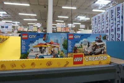 Lego City and Creator Sets Ice Cream Truck Safari Truck
